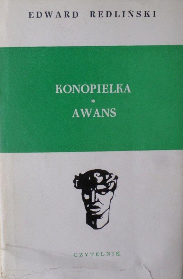 Edward Redliński • Konopielka. Awans