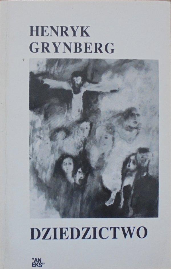 Henryk Grynberg • Dziedzictwo [dedykacja autora]