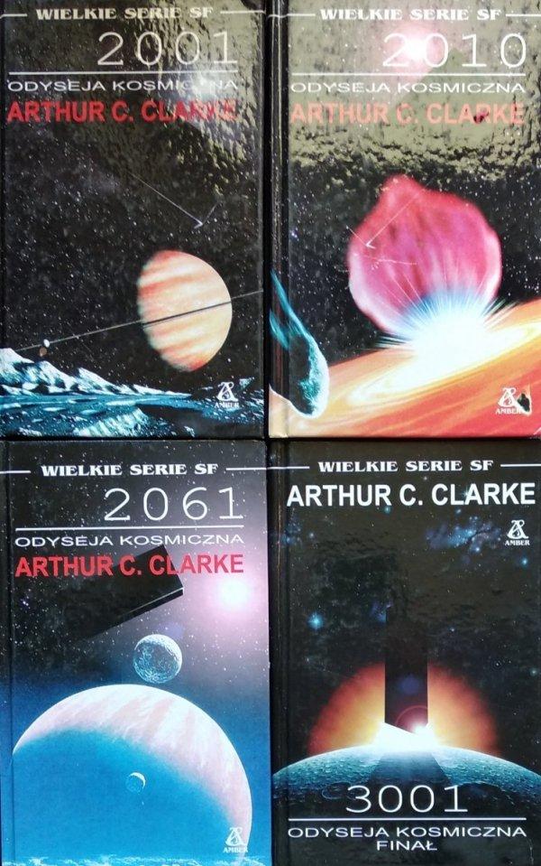 Arthur C. Clarke • Odyseja kosmiczna [komplet]