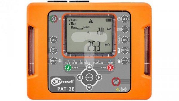 Miernik bezpieczeństwa sprzętu elektrycznego PAT-2E WMPLPAT2E