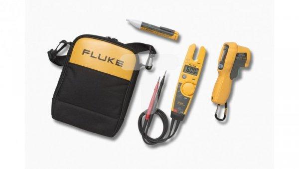 Termometr na podczerwień + Tester elektryczny + próbniki napięcia zestaw Fluke T5-600/62MAX+/1AC kit 4297126