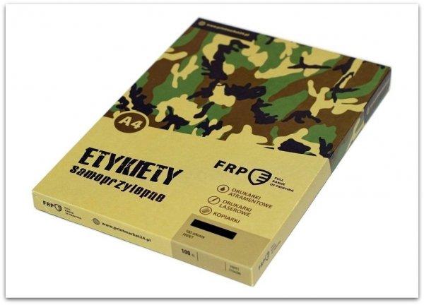 ETYKIETA A4 105x42,4 QCT