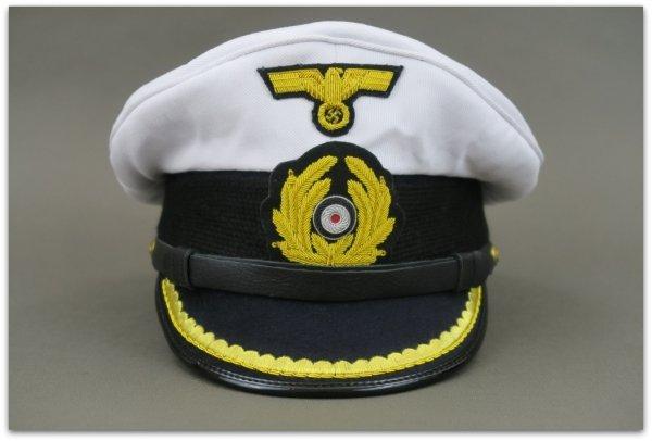 MC023 CZAPKA OFICERSKA KRIEGSMARINE U-BOAT (2)