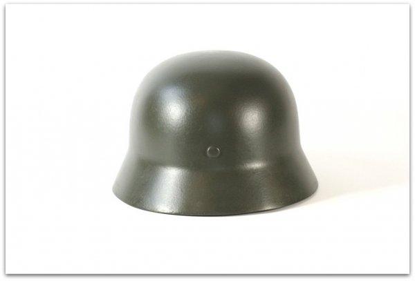 MH059 HEŁM NIEMIECKI M40 SS-TOTENKOPF - FELDGRAU