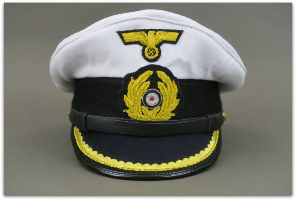 MC022 CZAPKA OFICERSKA KRIEGSMARINE U-BOAT (1)
