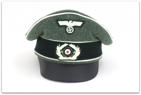 MC015 OFICERSKA CZAPKA TYPU CRUSHER WEHRMACHT PIECHOTA - SUKNO