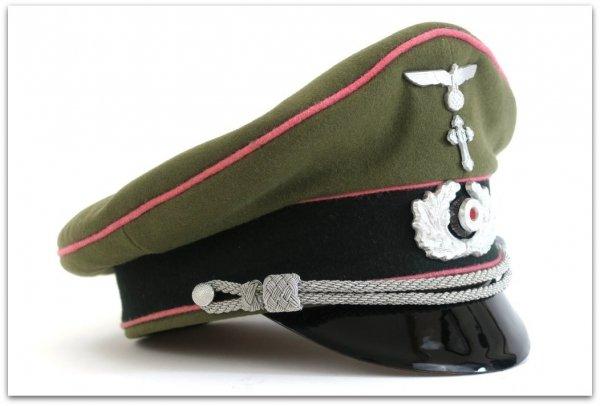 MC032 OFICERSKA CZAPKA GARNIZONOWA KAPELANA WEHRMACHTU - SUKNO