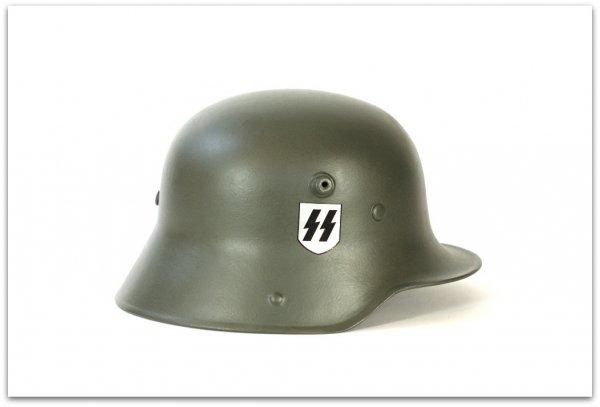 MH040 HEŁM NIEMIECKI M16 WAFFEN-SS - FELDGRAU
