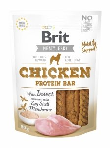 Brit Jerky Snack – Protein bar with Insect 80g
