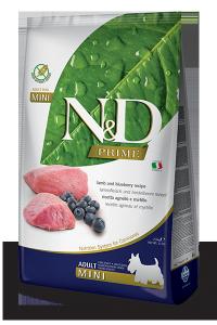 Farmina N&D PRIME DOG LAMB AND BLUEBERRY ADULT MINI 2,5kg