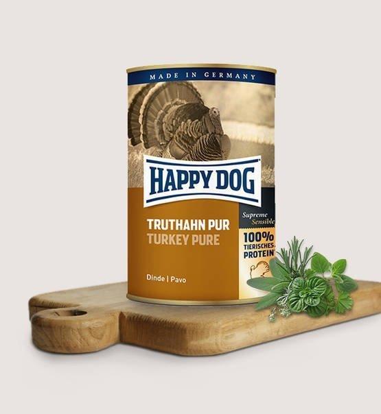 Happy dog puszka Indyk 400g