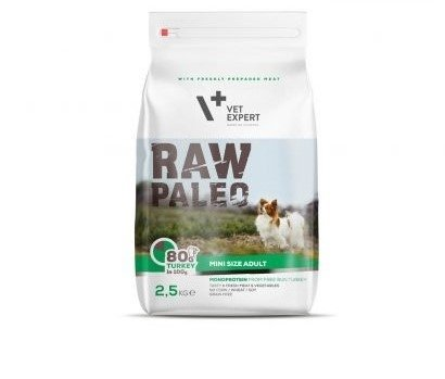 VETEXPERT RAW PALEO MINI SIZE ADULT 750g