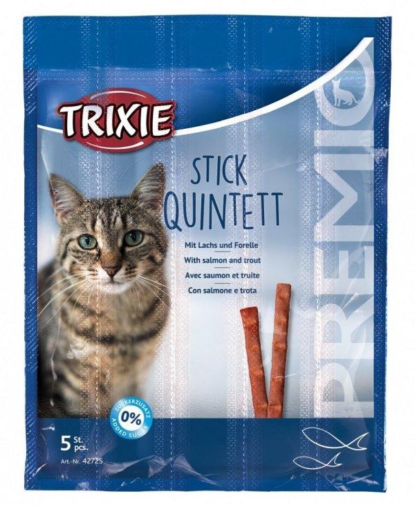 Trixie Kabanosy Premio Stick Quintett 5x5g