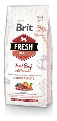 Brit Fresh Beef With Pumpin 12kg