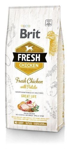 Brit Fresh Chicken with Poato 12kg