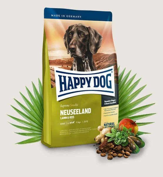 Happy Dog Fit & Well Supreme Nauseeland 4kg
