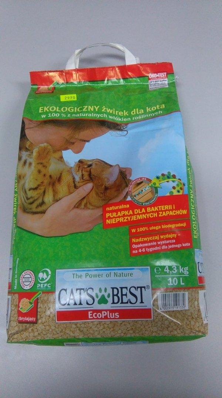 CAT'S BEST ECO PLUS 10L