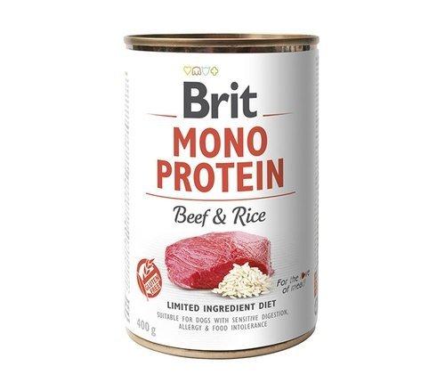 BRIT MONO PROTEIN BEEF & RICE 400g
