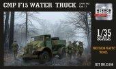 Mirror Models 35166 CMP Ford F15 Water truck, Cab 11, 4x2 drive (1:35)