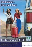 Master Box 24041 Truckers series. Hitchhikers, Erica & Kery (1:24)