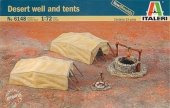 Italeri 6148 Desert well and tents 1/72