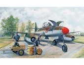 Trumpeter 02261 Messerchmitt Me 262 A-1a clear edition (1:32)