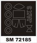 Montex SM72185 Yak-3 ZVEZDA 1/72