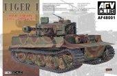 AFV Club 48001 Tiger I Panzerkampfwagen VI Sd.Kfz. 181 Final Version (1:48)