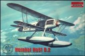 Roden 453 Heinkel He 51 B-1 floatplane fighter 1/48