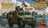 Meng Model VS-008 Russian GAZ 233115 Tiger-M SpN SPV 1/35