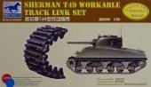 Bronco AB3544 Sherman T49 Workable Track Link Set 1/35