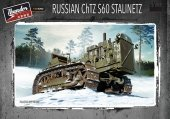 Thunder Model 35400 Russian ChTZ S60 Stalinetz 1/35