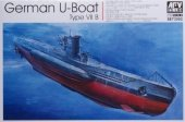 AFV Club 73502 German U-Boat Type VIIB