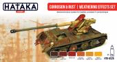 Hataka HTK-AS26 Corrosion rust weathering effects set