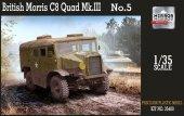 Mirror Models 35400 BRITISH MORRIS C8 QUAD MK III NO.5 (1:35)