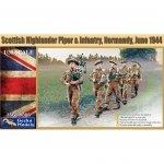 Gecko Models 35GM006 Scottish Highlander Piper & Infantrie 1/35