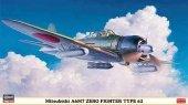 Hasegawa 09813 Mitsubishi A6M7 Zero Fighter Type 62 1/48