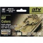 Vallejo 71210 IDF Army Colors 1957 (6x17ml)