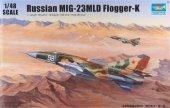 Trumpeter 02856 Russian MIG-23MLD Flogger-K (1:48)