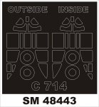 Montex SM48443 C-714 RS MODEL 1/48