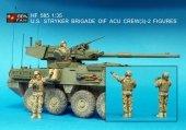 Hobby Fan HF585 U.S. Stryker Brigade OIF ACU CREW(3)-2FIGURES