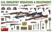 MiniArt 35329 U.S. INFANTRY WEAPONS & EQUIPMENT 1/35