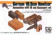 AFV Club 35062 German 10.5 cm Ammo and Accessories 1/35