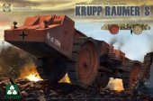 Takom 2053 Krupp Raumer S WWII German Super Heavy Mine Clearing Vehicle 1/35