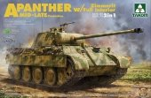 Takom 2100 A Panther Zimmerit w/Full Interior MID-Late production 1/35