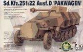 AFV Club 35083 Sd.Kfz.251/22 Ausf. D Pakwagen