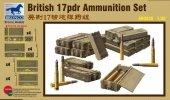 Bronco AB3535 British 17pdr Ammo Set 1/35