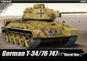 Academy 13502 German T-34/76 747(r) World War Ⅱ 1/35