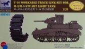 Bronco AB3553 T16 Workable Track Link Set for M3/M5 Staurt Light Tank 1/35