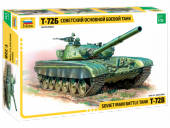 Zvezda 3550 Russian Main Battle Tank T-72B 1/35